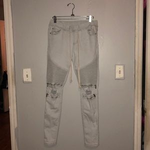 Forever 21 Jeans - Light was moto jeans
